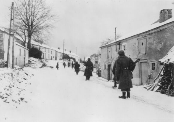 The 345th Infantry Regiment in Moircy, 30 Dec 1944