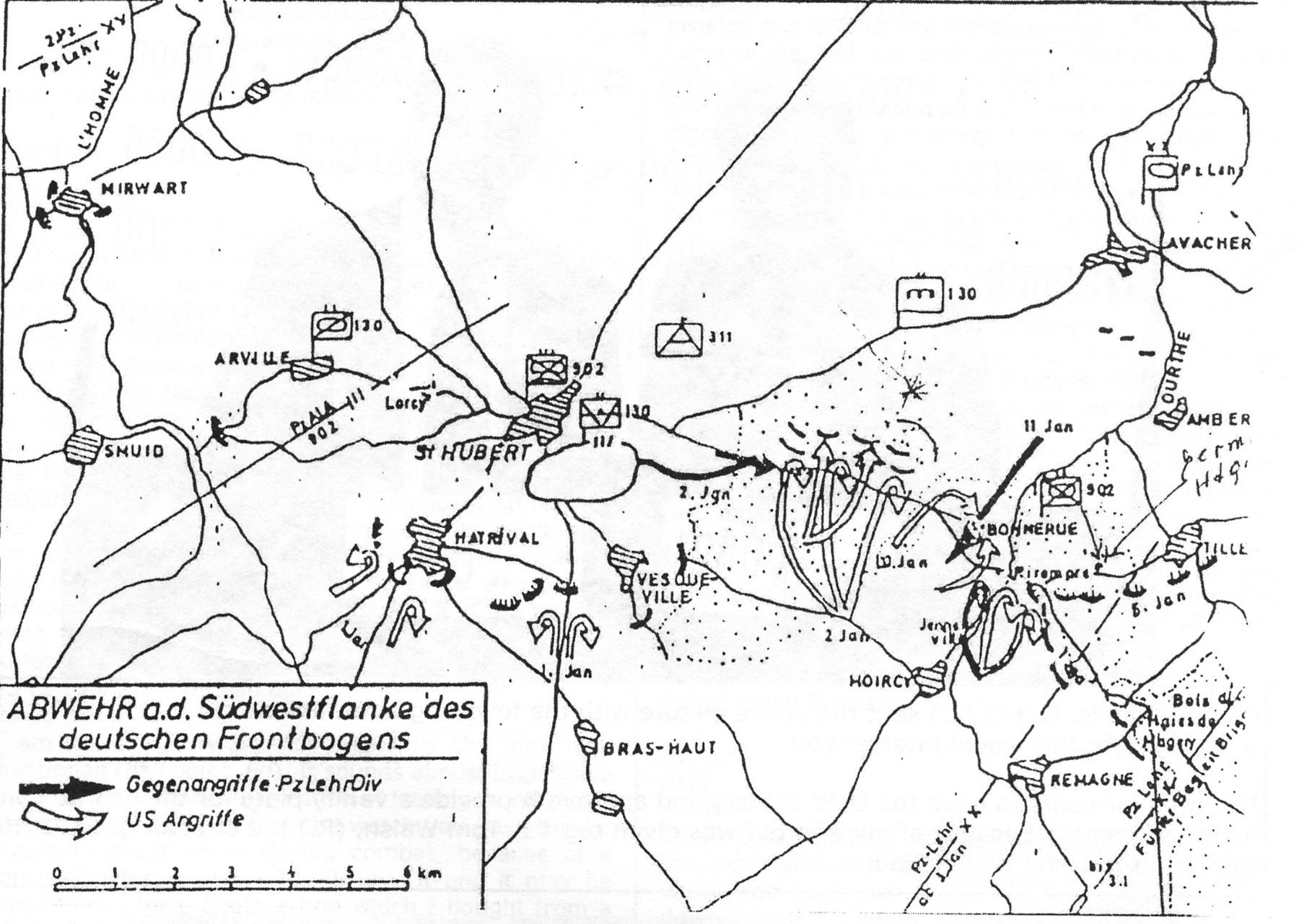 German map of the same area and timeframe