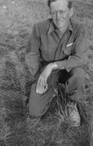 Cecil Davis Camp Oklahoma City June 1945