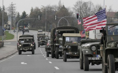 Liberty Convoy Honors 87th Infantry Division Veterans