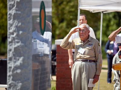 Monument Dedication at Fort Benning