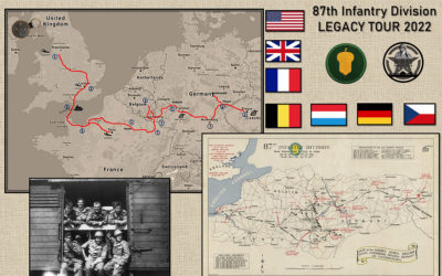 """Trip to Europe – Follow the path of the """"Golden Acorn"""" Division in WWII"""